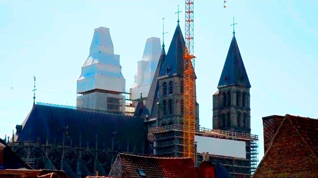 La cathédrale de Tournai : un chantier hors normes