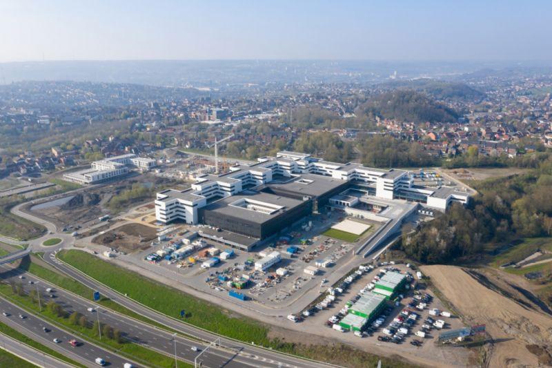 Les spécificités de la conception d'un hôpital : le cas du MontLégia (Liège)