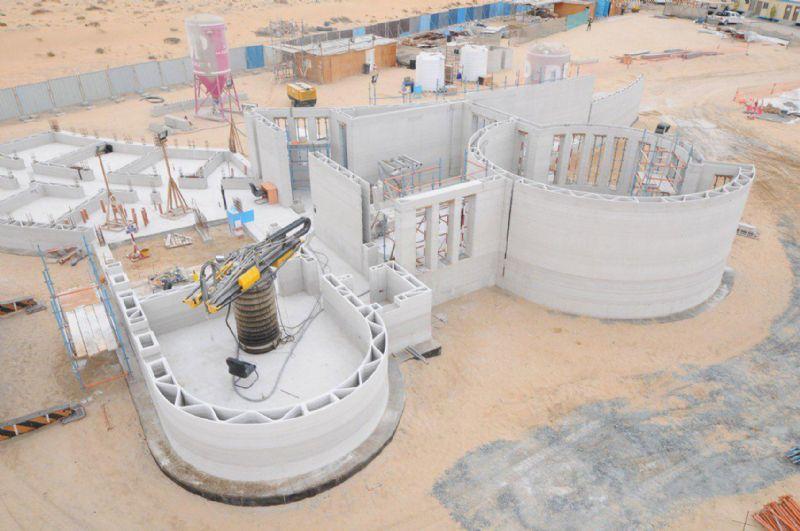 A Dubaï, le plus grand bâtiment imprimé en 3D au monde