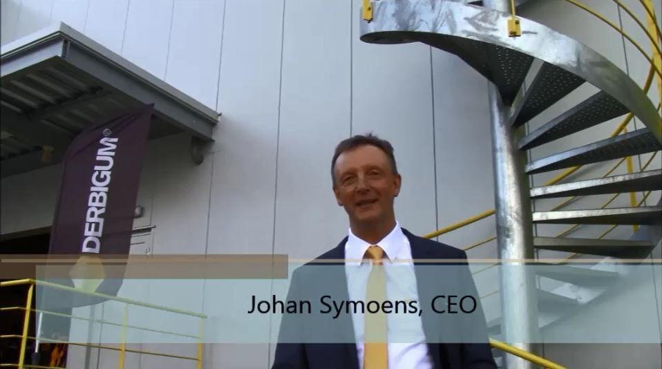 Johan Symoens, CEO van Derbigum