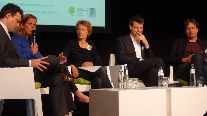 Extrait du débat organisé par Bruxelles Environnement sur la construction durable : la qualité belge