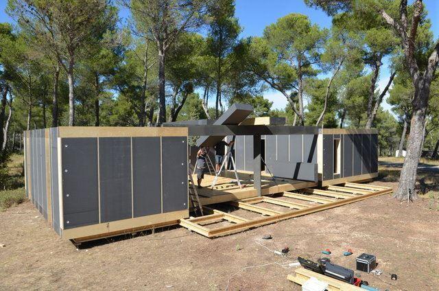 Architube : Maison passive à assembler soi-même