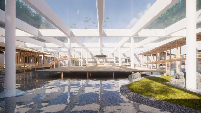 Hiroshi Sambuichi ontwerpt unieke uitbreiding voor Deense kunstgalerij