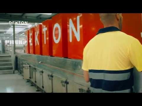 How Dekton is made?