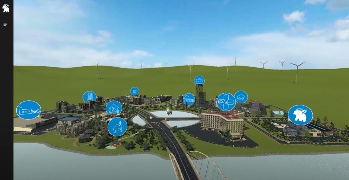 SOPREMA opent virtuele stad van de toekomst