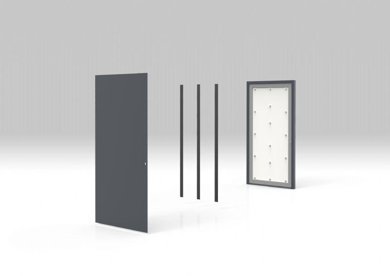 Magnetude: vleugeloverdekkende deurpanelen van Harinck