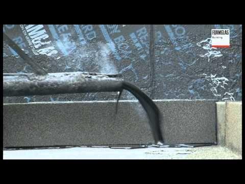 FOAMGLAS® Kompaktdak op betonnen drager