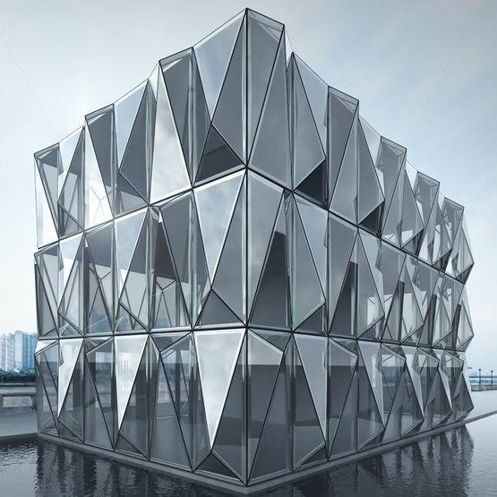 Système de façade paramétrique de Schüco
