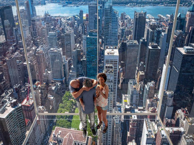New York gezien vanop 400 meter hoogte