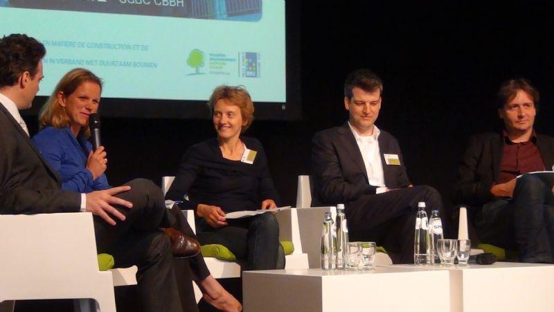 Extrait du débat organisé par Bruxelles Environnement sur la construction durable : le passif adopté par le grand public