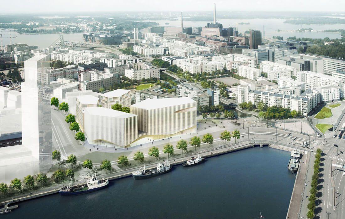 Waarom bouwt Finland een houten stad?