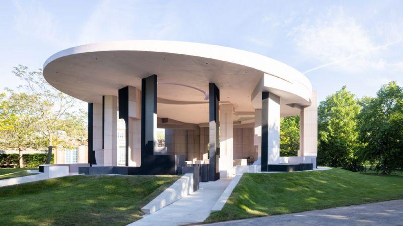 Jetez un œil dans le pavillon éphémère de la Serpentine Gallery