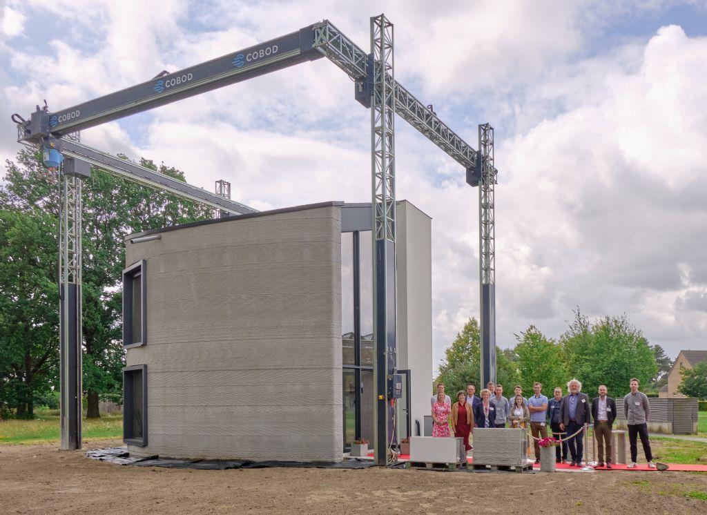 Première mondiale : une maison imprimée en béton 3D