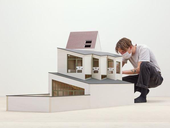 Bovenbouw Architectuur ontwerpt scenografie Belgisch paviljoen - Biennale Architettura 2021