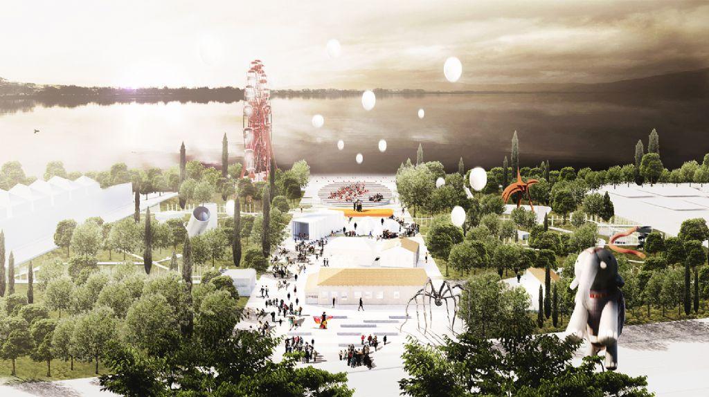 Athene krijgt stedelijk cultuurpark aan oever Ioannina-meer