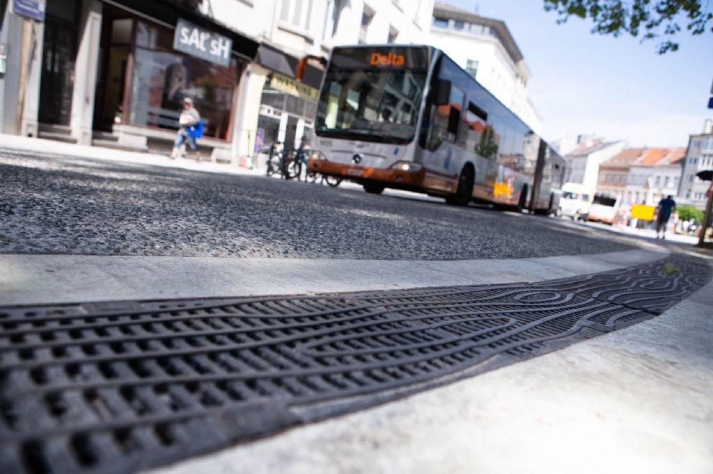 Wanneer design en functionaliteit één worden: uniek roosterdesign voor heringerichte voetgangerszone in Elsene