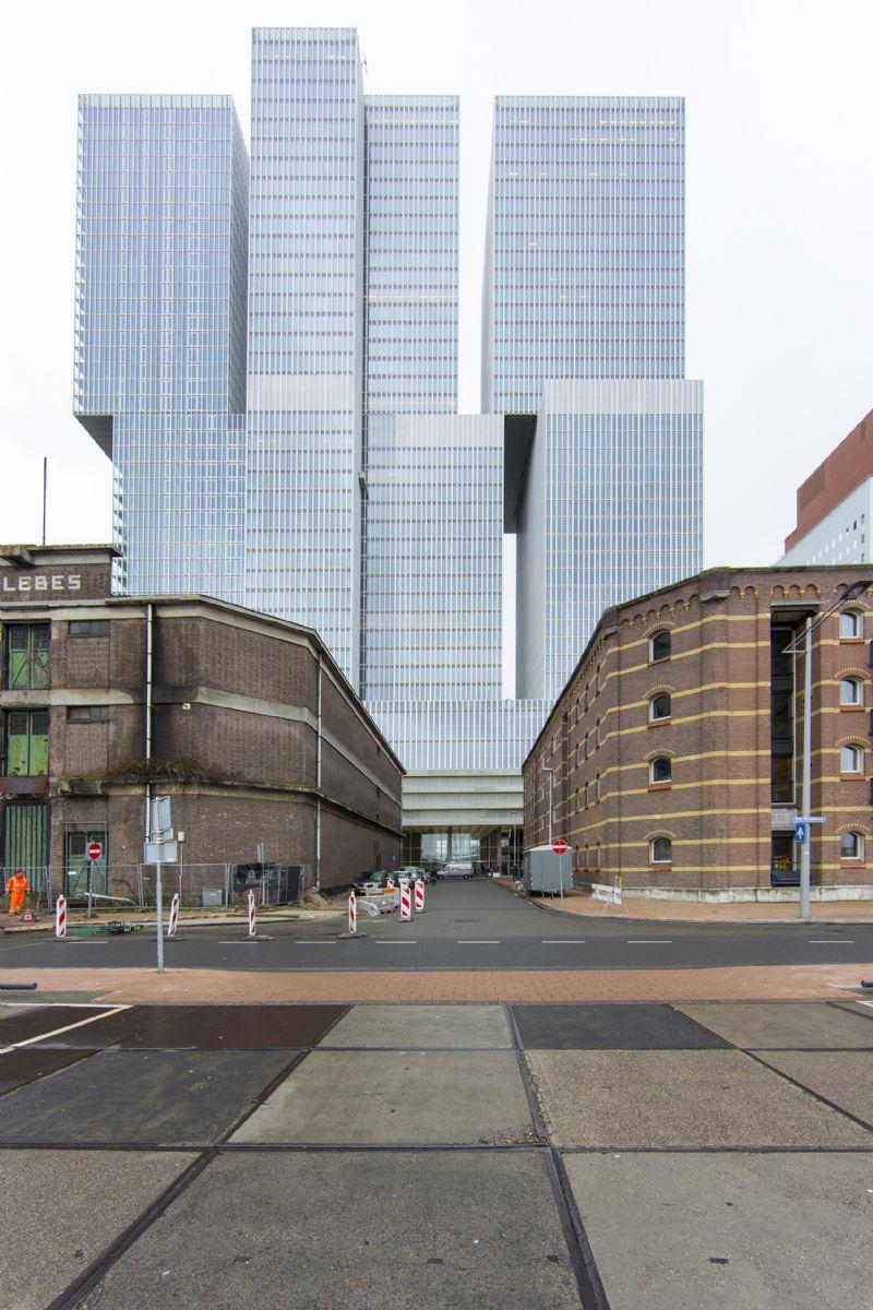 Een vergezicht op De Rotterdam