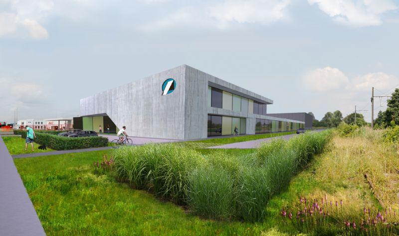 Architects In Motion ontwerpt nieuwe bedrijfsgebouwen vzw Amival