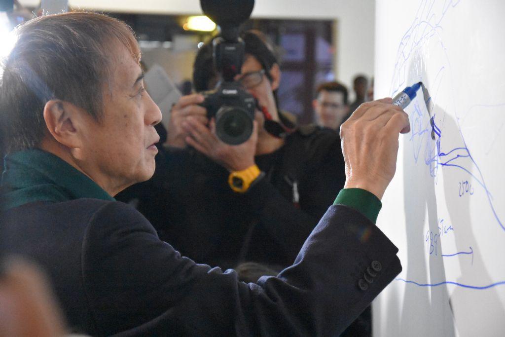 Voor Tadao Ando is schetsen zijn taal en uitdrukking van zijn concepten.