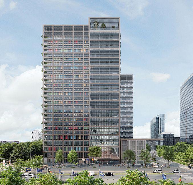 Vernieuwend hergebruik iconische WTC-project zet nieuwe standaard voor circulair bouwen