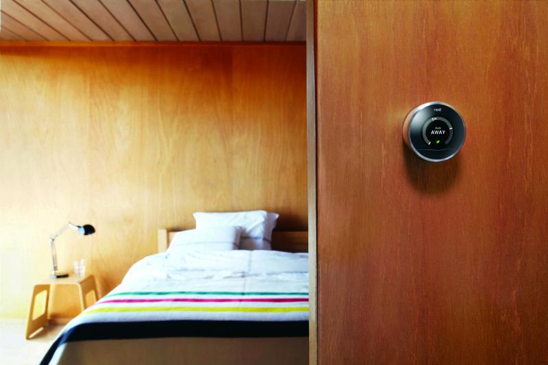 De Nest Learning Thermostat is een intelligent staaltje techniek met een knap design.