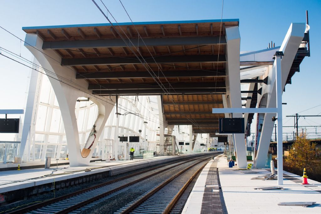 Vernieuwing stationsomgeving Mechelen komt op kruissnelheid