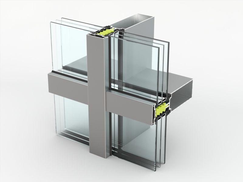 De AA 100 Q HI+ kan tot 700kg gewicht dragen. Driedubbel glas vormt daardoor geen enkel probleem.