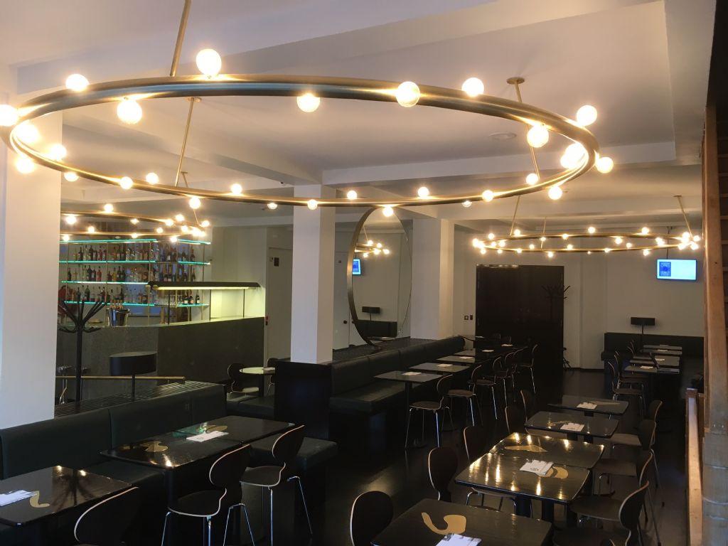Techniek onzichtbaar aanwezig in Bozar Café Viktor