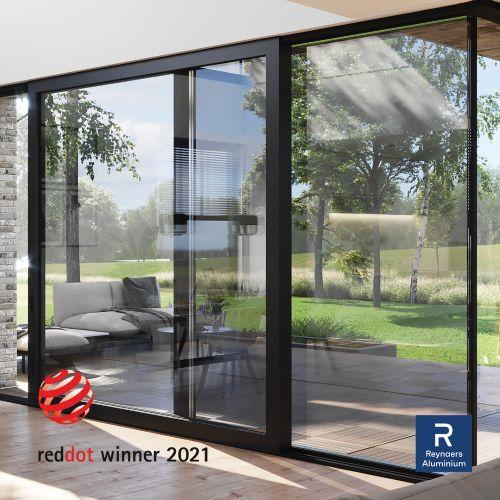 Reynaers Aluminium remporte un Red Dot Award 2021 avec MasterPatio
