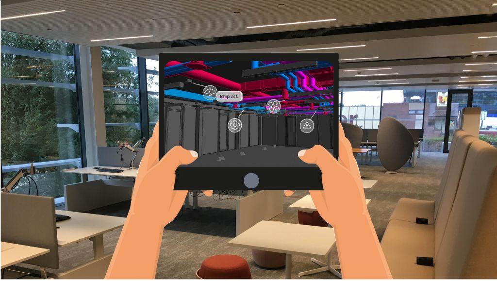 De testcase in het Food Experience Center van Vandemoortele in Gent was zeer succesvol, dus de augmented reality-app is klaar om verder uitgerold te worden.