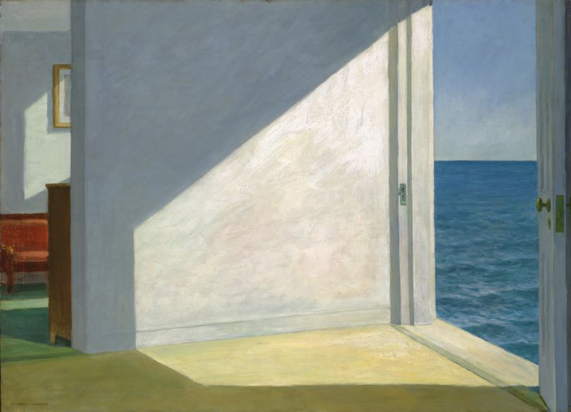 Edward Hopper -  'Room by the Sea'.