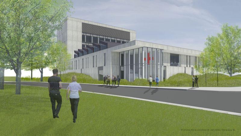 De nieuwbouw voor het Rode Kruis in Mechelen was een BREEAM-project.