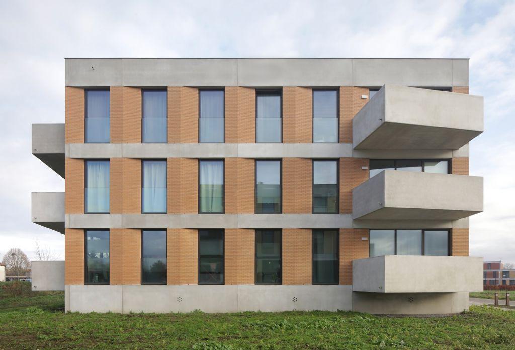 Terrassen zorgen voor volumetrische breuk zonder aantasting van de gebaldheid van het volume.
