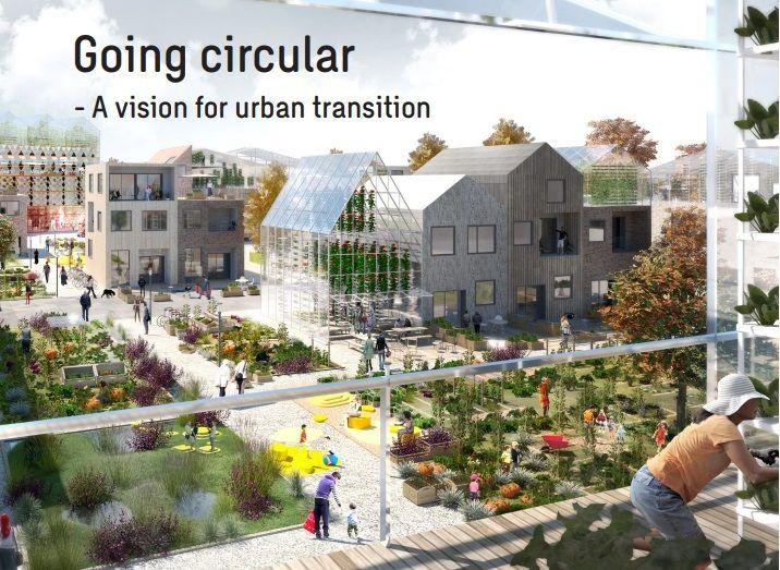 Le circulaire dans les zones urbaines pour lutter contre le changement climatique