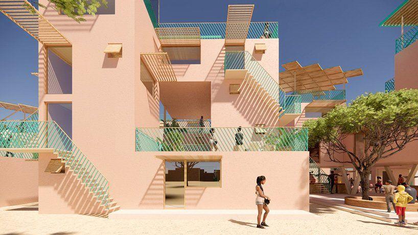 Julien De Smedt et Othalo vont construire des maisons en plastique recyclé
