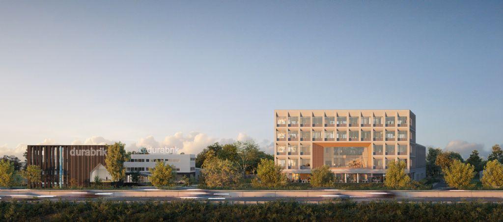 Kantorencomplex In The Yard van Salens Architecten houdt werknemers fit en gezond