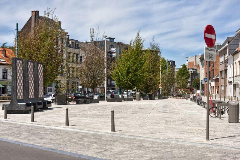 Heraanleg Driekoningenstraat Statiestraat Berchem - Prijs Publieke Ruimte 2012