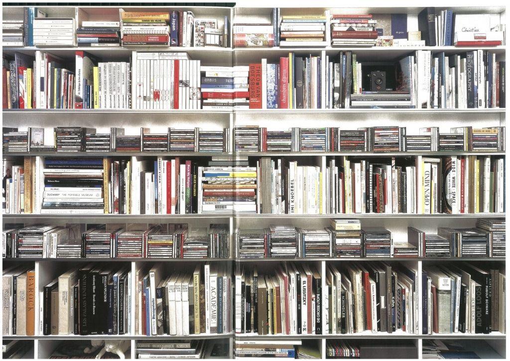 De bibliotheek van Christian Kieckens