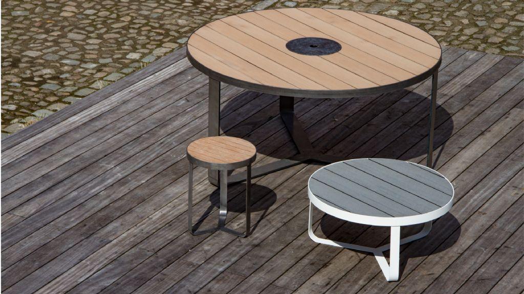 Design tafels uit pure, duurzame materialen