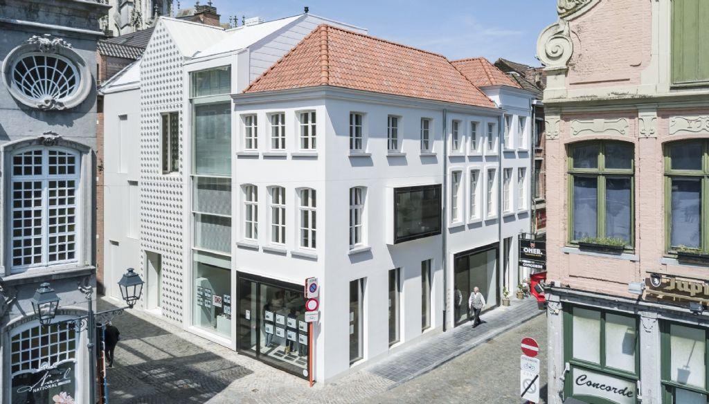 Huis van Lorreinen à Malines (dmvA architecten bvba), vainqueur de la catégorie Precast in Buildings.
