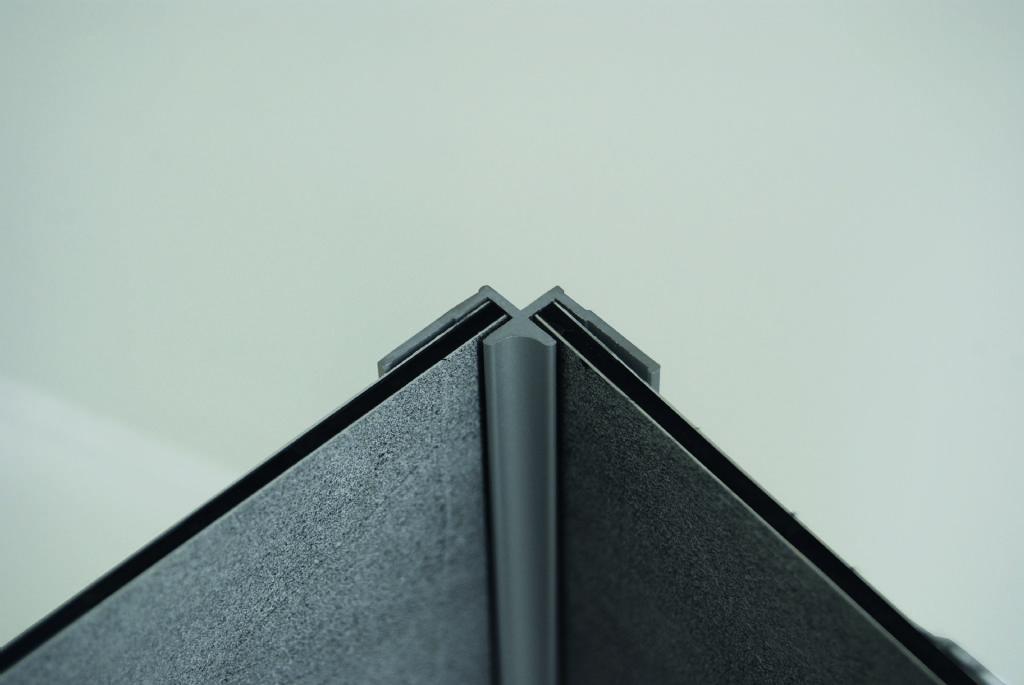 Profielen in aluminium (binnenkant)