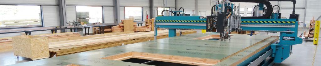 Carpentier investeert in nieuwe machine voor houtskeletbouw en prefab panelen
