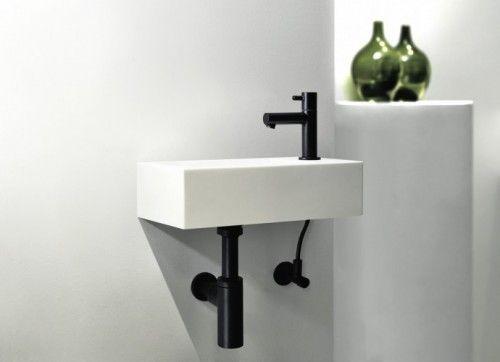 Desco volgt trend van donkere badkamer