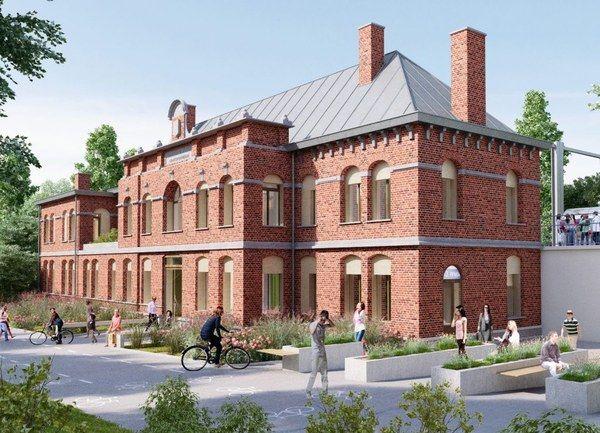 La gare de Herstal rénovée, pour accueillir des associations
