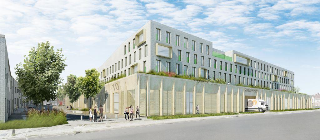 CityCampus Anderlecht: Crepain Binst Architecture, ORG Architecture, VK Engineering