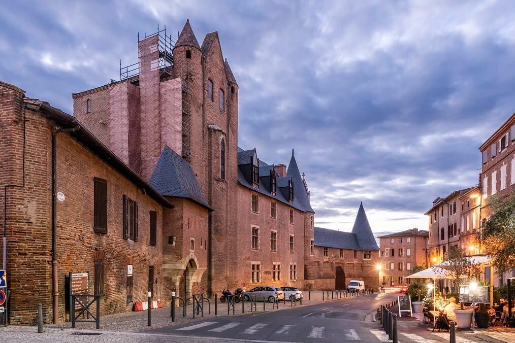 Restauration des façades et des toitures du Palais de la Berbie à Albi