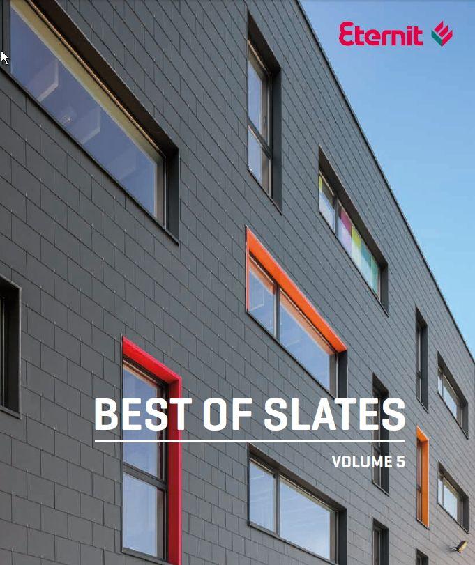 Nouvelle édition du livre pour les architectes Best of Slates