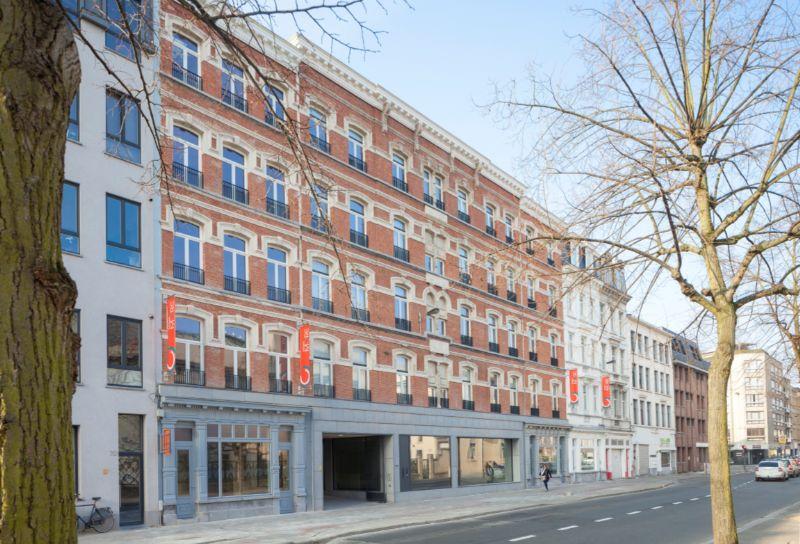 Nieuwe campus van de Thomas More hogeschool in Antwerpen