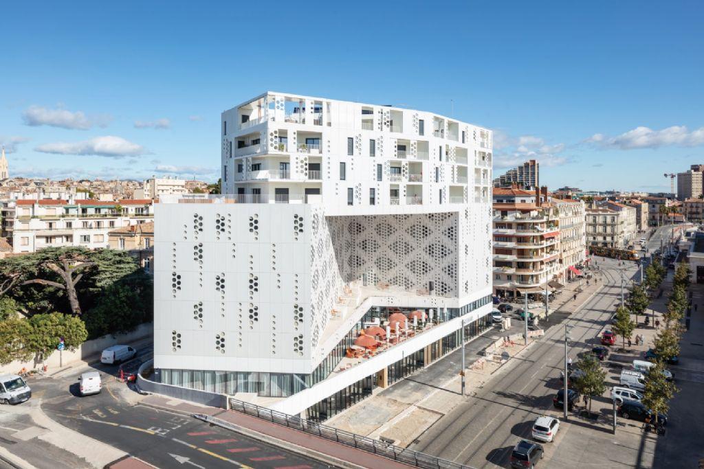 Le Belaroïa à Montpellier, un programme tout en plis et en boucles