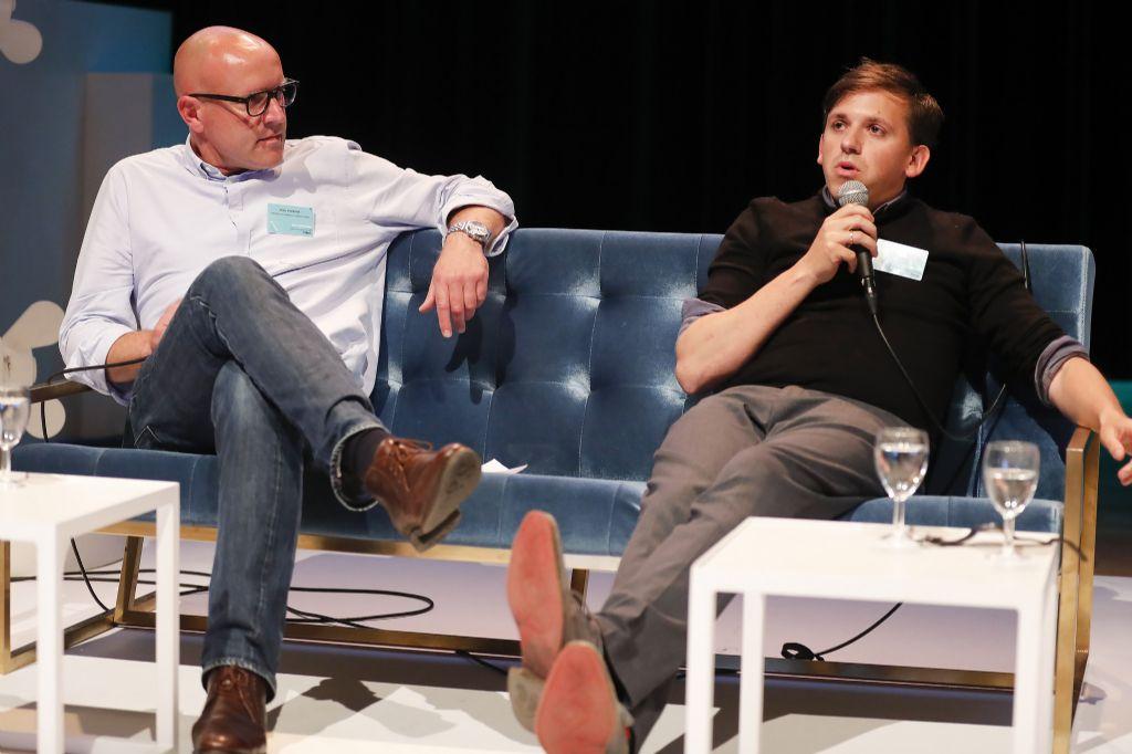 """Nikolaas Martens: """"Architectuurstudenten schatten de hedendaagse jobrealiteit doorgaans compleet fout in. Vandaar dat stagiairs dikwijls moeilijk inzetbaar zijn."""" (Beeld: Tim Van Wichelen)"""